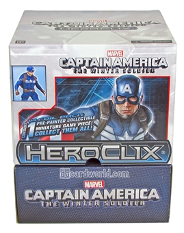 Marvel HeroClix Captain America The Winter Soldier 24-Pack Booster Box