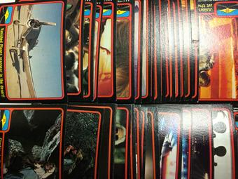 1978 Topps Close Encounters of the Third Kind Complete 66 Trading Card Set
