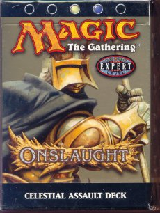 Magic the Gathering Onslaught Celestial Assault Precon Theme Deck