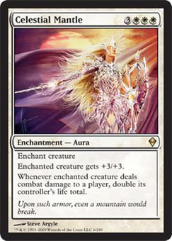 Magic the Gathering Zendikar Single Celestial Mantle - NEAR MINT (NM)
