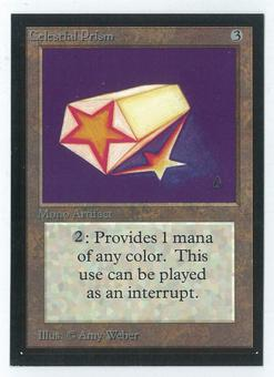 Magic the Gathering Beta Artist Proof Celestial Prism - SIGNED BY AMY WEBER