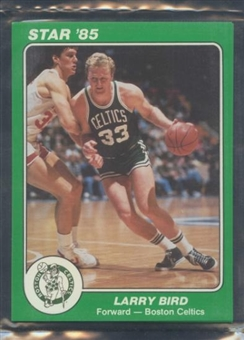 1985 Star Co. Basketball 5x7 Celtics Bagged Set
