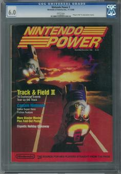 Nintendo Power #3 CGC 6.0 (W) *1214685001*