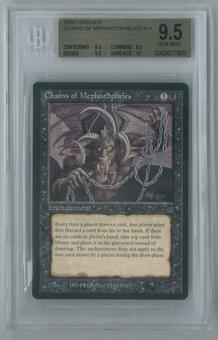 Magic: the Gathering Legends Chains of Mephistopheles Single BGS 9.5 (9.5, 9.5, 9.5, 10)