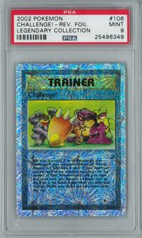 Pokemon Legendary Collection Challenge! 106/110 Reverse Foil Rare PSA 9