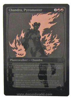 Magic the Gathering Promo Single Chandra, Pyromaster SDCC 2013 Exclusive - SLIGHT PLAY (SP)