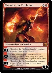 Magic the Gathering 2012 Single Chandra, the Firebrand Foil