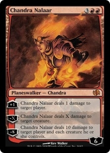 Magic the Gathering Duel Deck Single Chandra Nalaar Foil