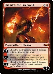 Magic the Gathering 2013 Single Chandra, the Firebrand Foil