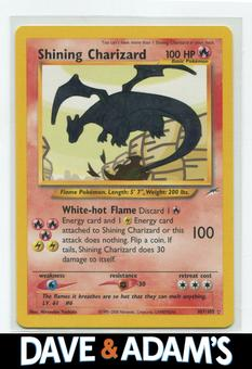 Pokemon Neo Destiny Single Shining Charizard 107/105 - GEM MINT