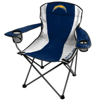 San Diego Chargers Coleman Team Logo Oversize Quad Chair