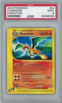 Pokemon Expedition Charizard 40/165 Rare PSA 9