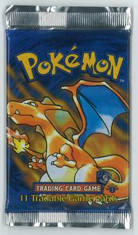 Pokemon Base Set 1 FIRST EDITION Booster Pack - Charizard Art - UNSEARCHED