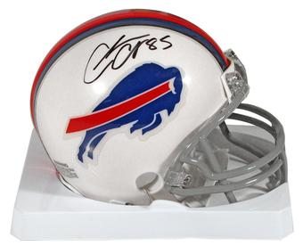Charles Clay Autographed Buffalo Bills Football Mini-Helmet
