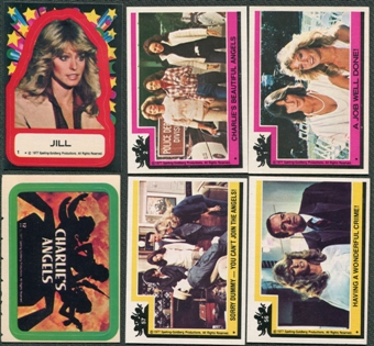 Charlie's Angels Trading Card Set Series 1 and 2 1-121 Plus 22 Stickers
