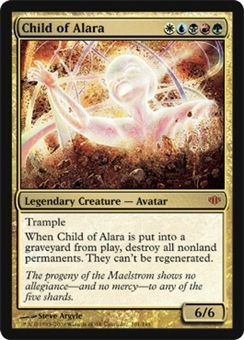 Magic the Gathering Conflux Single Child of Alara - NEAR MINT (NM)