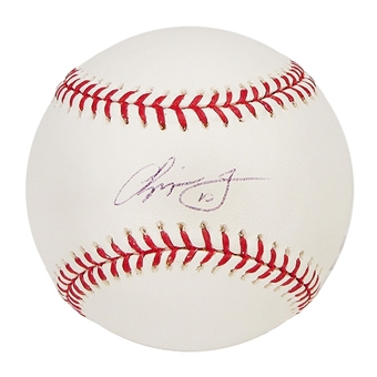 Chipper Jones Autographed Official Major League Baseball (Radtke COA)