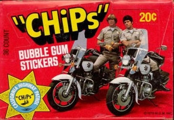 CHiPs Wax Box (1977 Donruss)