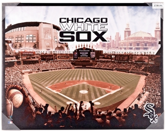 Chicago White Sox Artissimo Glory Stadium 22x28 Canvas