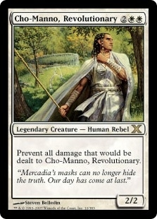 Magic the Gathering 10th Edition Single Cho-Manno, Revolutionary Foil