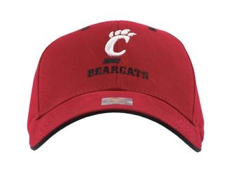 Cincinnati Bearcats Top Of The World Classic Red Adjustable Hat (Adult One Size)