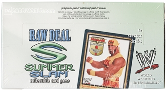 Comic Images WWE Raw Deal Summer Slam Wrestling Starter Deck Box