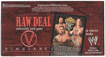 Comic Images WWE Raw Deal Vengeance Wrestling Starter Deck Box