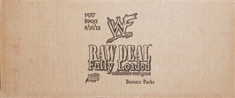 Comic Images WWE Raw Deal Fully Loaded Wrestling Booster 6-Box Case