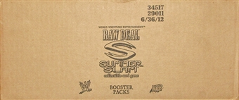 Comic Images WWE Raw Deal Summer Slam Wrestling Booster 6-Box Case