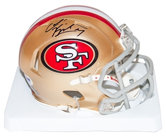 Colin Kaepernick Autographed San Francisco 49ers Speed Mini Helmet (PSA)