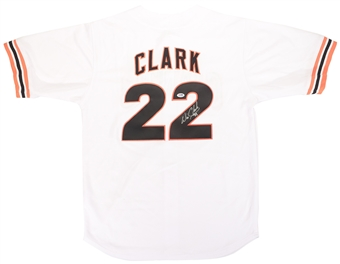 Will Clark Autographed San Francisco Giants Home Baseball Jersey (PSA)