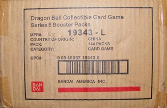 Bandai Dragon Ball Clash of Sagas Booster 6-Box Case