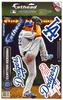 "Clayton Kershaw LA Dodgers 7"" x 17"" Fathead  - Regular Price $14.95 !!!"