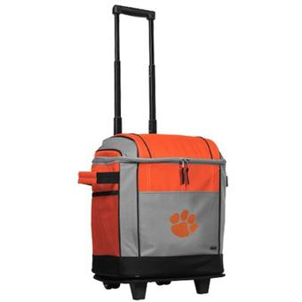 Coleman Clemson Tigers Soft-Side Rolling 50 Can Cooler