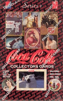 Coca-Cola Series 1 Box (1993 Collect-A-Card)