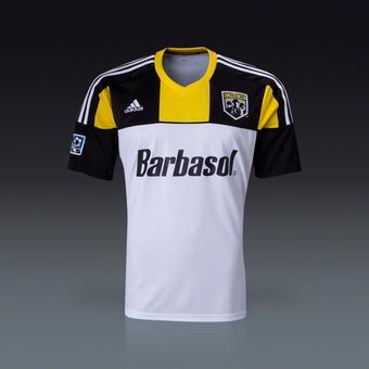 Columbus Crew Adidas ClimaCool White Replica Jersey (Adult L)