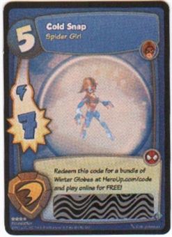 Marvel Super Hero Squad Foundation Single Cold Snap Loot Card