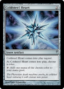 Magic the Gathering Coldsnap Single Coldsteel Heart FOIL