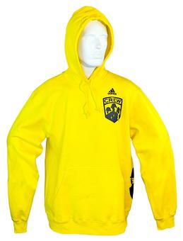 Columbus Crew Adidas Yellow Fleece Hoodie (Adult XL)