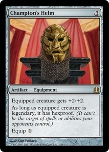 Magic the Gathering Commander Single Champion's Helm - NEAR MINT (NM)