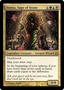 Magic the Gathering Commander Single Damia, Sage of Stone - NEAR MINT (NM)