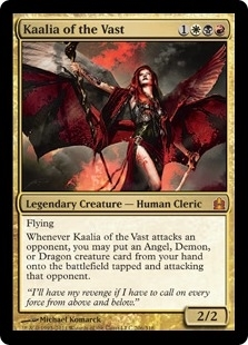 Magic the Gathering Commander Single Kaalia of the Vast - NEAR MINT (NM)