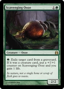 Magic the Gathering Commander Single Scavenging Ooze - NEAR MINT (NM)