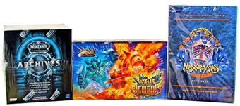 World of Warcraft Trading Cards Bundle - Amazing Combo !!!
