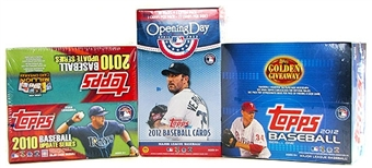 Baseball Card Collector Package #3 - Look for Autograph and Relic Cards!