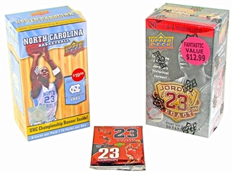 Basketball Card Collector Package #2- Perfect for Michael Jordan Fans!