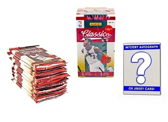 Basketball Card Collector Package #1- With Mystery Memorabilia or Autograph Card!