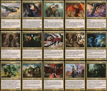 Magic the Gathering Commander 2011 Oversized Foil Generals - ALL 15 ORIGINAL COMMANDERS