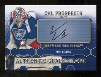 2012/13 In the Game Between The Pipes Autographs #AEC Eric Comrie Autograph