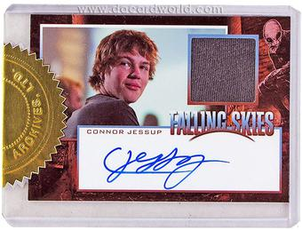 Falling Skies: Season One Premium Pack Connor Jessup Autograph/Relic Card 2-Box Incentive